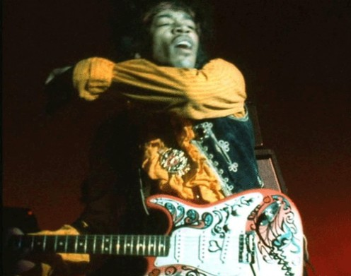 The Two Fender Artist Series Jimi Hendrix Stratocaster Guitars