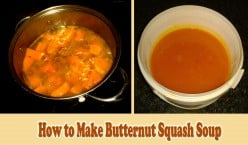 Butternut Squash Soup - Quick And Easy Recipe