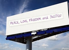 Billboards Can Be Thought Provoking.
