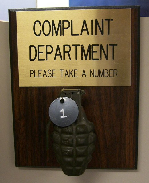 Make sure you address your complaint to the correct person.