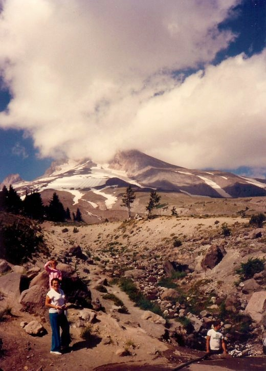 Mount Hood as viewed from Timberline Lodge