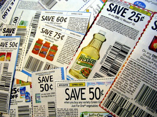 Drowning in all those coupons?