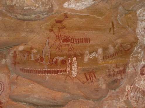 Pedra Furada pictographs