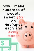 How I Make Money Online Writing on HubPages