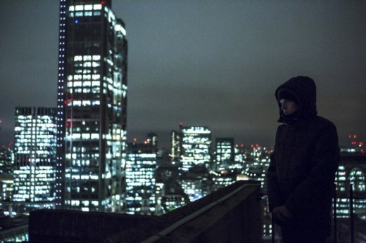 Tom looks out at the city and discovers he can 'hear' it.