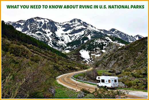Learn what you need to know before taking an RV trip to a US National Park