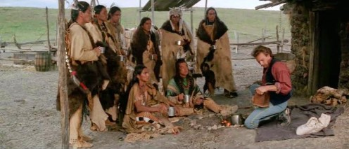 "Scene from ""Dances with Wolves"""