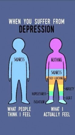 Depression Makes You Feel Numb