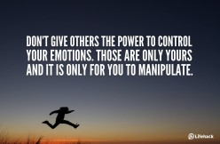 Emotional Manipulation of Others