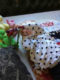 Post#6: Imogen Rose in September, at seven months of age