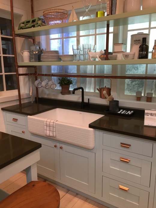 Example of a designer kitchen