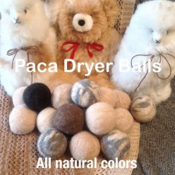 Bye-Bye Dryer Sheets, Time for Alpaca Dryer Balls