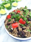 Cuban Black Beans and Rice Salad