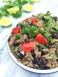Cuban Black Beans and Rice Salad