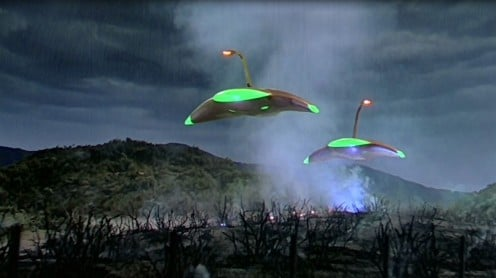 "Scene from ""War of the Worlds"""