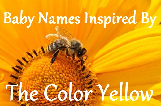 Yellow Inspired Baby Names