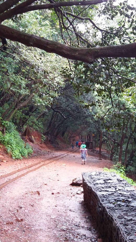 Red mud road of Matheran