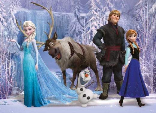 "The cast of ""Frozen"", which made a staggering $1.2 billion at the box office."