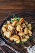 Homemade Gnocchi with Chanterelles
