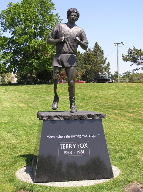Statute of Terry Fox