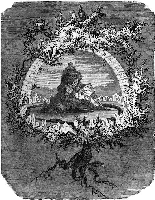 Yggdrasil and possibly Irminsul
