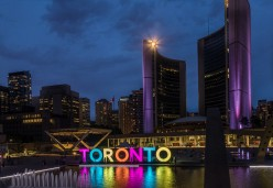Attractions and Employment Trends in Toronto, Ontario, Canada