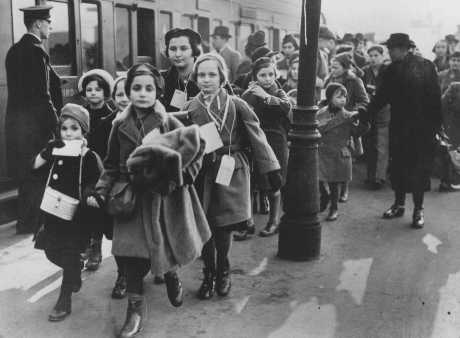 Austrian refugees arrive in England.