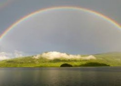 Rainbow Around God's Throne