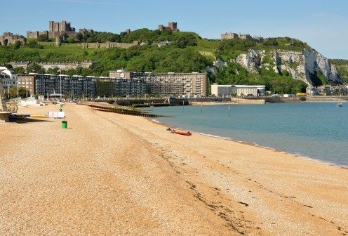 Dover Beach and Castle