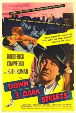 Down Three Dark Streets Film Review