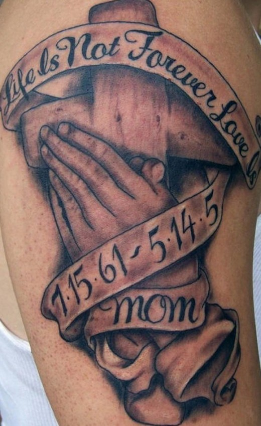 Sometimes, you get the honor of hearing about the loved one memorialized. That's what I love about tattoo's, the stories!