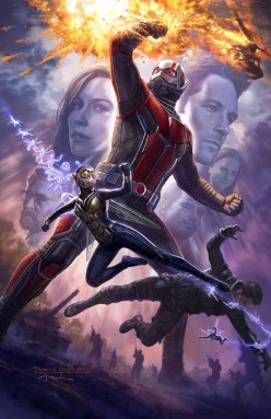 Ant-Man and Wasps:  Ghost Revealed