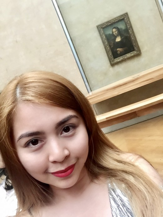 Selfie with Mona