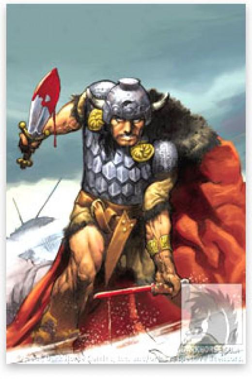 A Cimmerian (much like a Berserker)