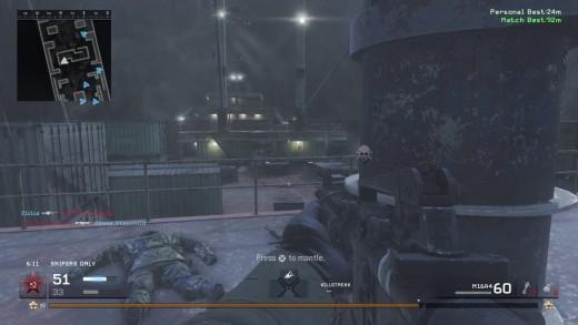 Modern Warfare Remastered - In Gameplay Screenshot