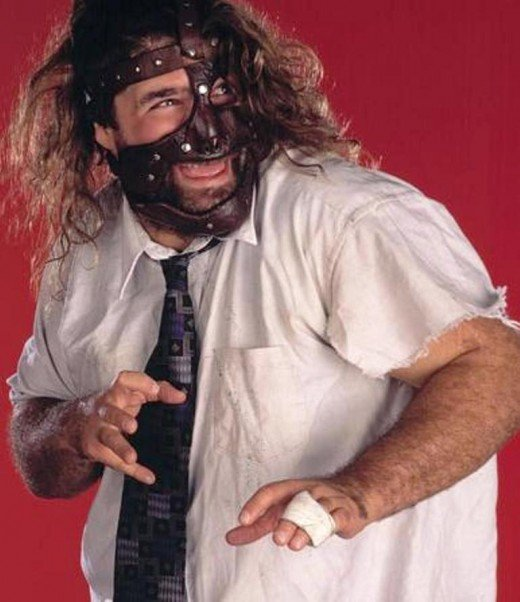 MANKIND - One of the Three Faces of Foley.