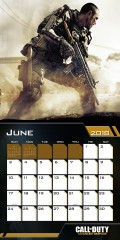 2018 Calendars Online with Call of Duty Calendar