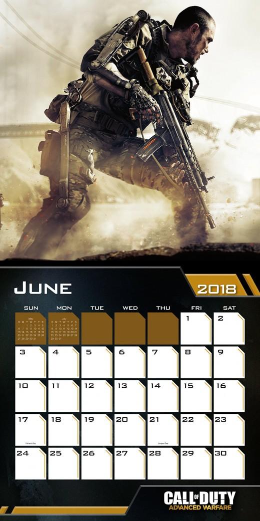 Call of Duty Calendar