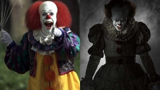 The original Pennywise didn't have to do much to look and be creepy, but with the new Pennywise you definitely know there is evil in there.