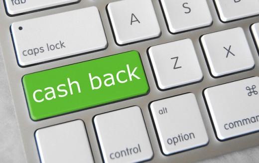 Cashback keyboard button.