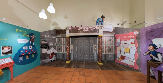 The Shaking It With Shakespeare exhibition which lasted from May 2016 to March 2017.