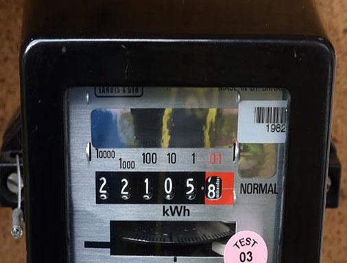 Electricity Usage  Meter