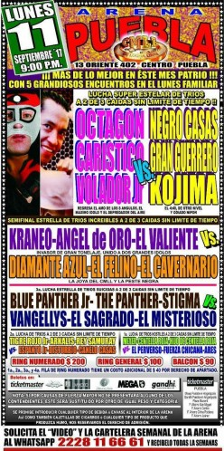 CMLL Puebla: Operation Octagon No Sell