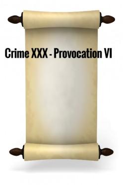 Crime XXX - Provocation VI