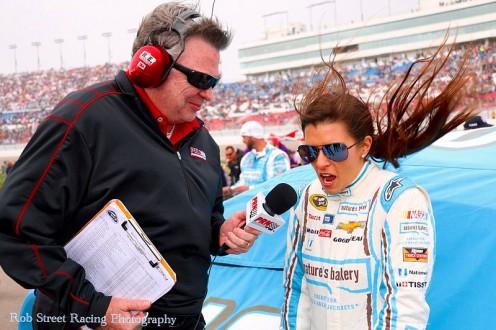 Danica Patrick-Las Vegas Motor Speedway-2016.