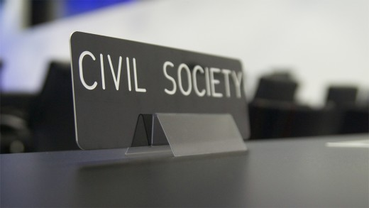 Civil Society groups are to be supported in their promotion of human rights and should be impartial in partaking that activity.
