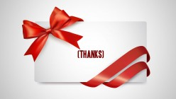Perfect Gift for All: The Gift of Thanks