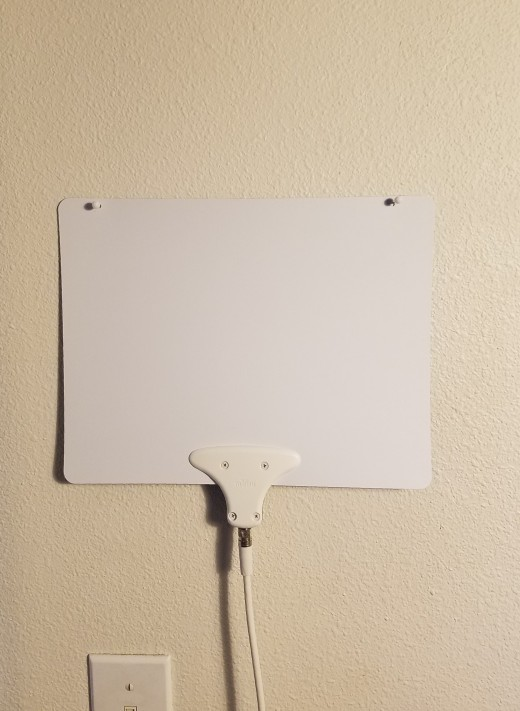 HD TV antennas are available from $20 - $75 and vary in distance to signal but not by much. It performs very well, and some channels are clearer than others but by finding the best position, all channels should become very clear.