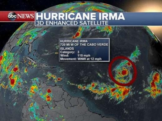 News Forecast of Irma, 2017
