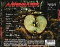 "Review of the Album ""Schizo Deluxe"" by Canadian Thrash Metal Band Annihilator"